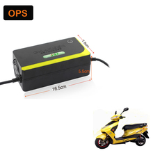 Free Shipping Lead Acid Battery Portable Charger 48V 20AH For Electric Bike Bicyle Scooters DC100-240V Output 58V 3A Volt