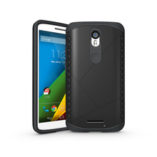 Heavy Duty Rugged Armor Phone Case Hybrid Silicone TPU Bag Cover For Motorola Moto X Force / Droid Turbo 2 XT1580 XT1581 XT1585