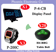Wireless Waiter Queuing Pager System For Restaurant Fast Food Service Pager With Call System Coaster Pager Watch
