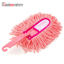 1pcs Cleaning Brushes Car Window Glass Cleaner Kitchen Bathroom Household Duster Brush Handle Dusting Tool