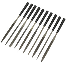 10pcs/lot Metal Needle Files Mini Diamond File With 10 Unique Shapes Glass Stone Ceramic Jewelers Wood Carving Tool