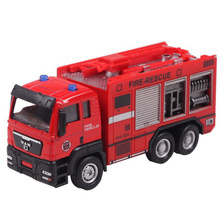 1:55 Garbage Truck Waste truck Fire engines transport Diecasts Toy Vehicles Brinquedos Crane Model Toy as Gift for Boy Children(China)