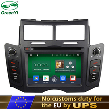 GreenYi Octa Core Android 6.0 and 7.1 Car DVD PC Player Fit Toyota Yaris 2005-2011 Bluetooth Radio TV 4G WiFi GPS Navigation(China)