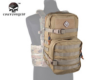 Emersongear Modular Assault Pack w 3L Hydration Backpack Paintball Army Multi-Function Molle Shoulder Bag Coyote Brown EM5816CB(China)