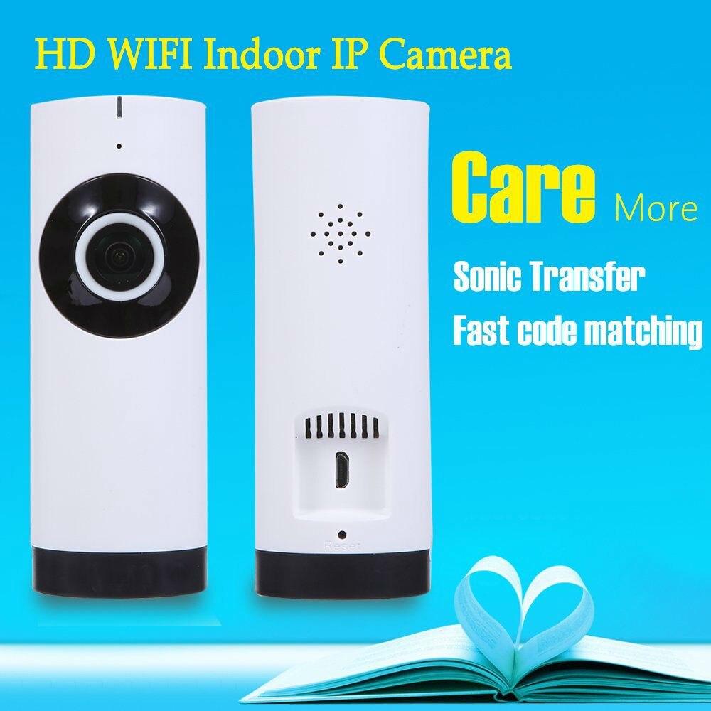 HD Mini Wifi IP Camera Fish Eye Lens 180 Degree Rotation Mini Baby Pet Monitor Motion Detection Alarm Wireless Security Camera<br><br>Aliexpress