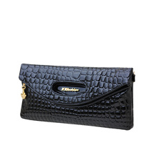 Ladies Designer PU Clutch Bag Fashion Trendy Plaid/Stripe/Leopard Printing Women Fashion Elegant Evening Bag Crossbody Bag(China)