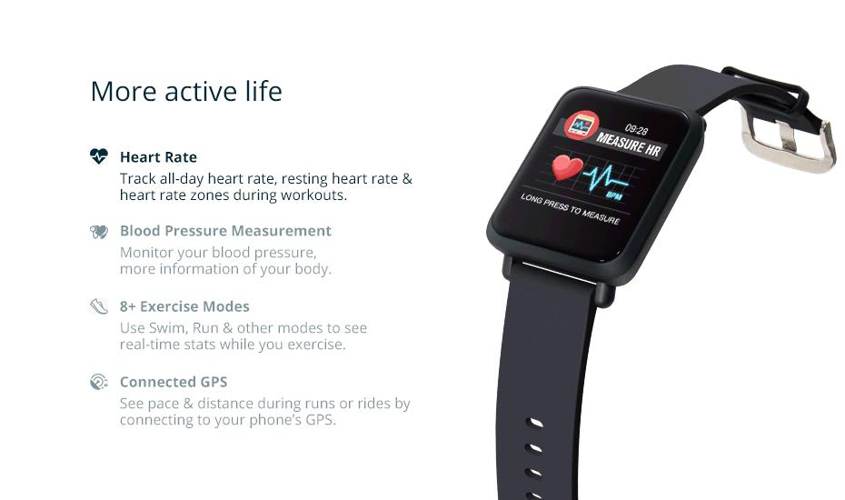 COLMI Smart Watch M28 IP68 Waterproof Bluetooth Heart Rate Blood Pressure Smartwatch for Xiao mi Android IOS Phone 7_1