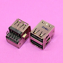 New Female Double USB jack USB Plug port socket connector for PC / computer. 21486