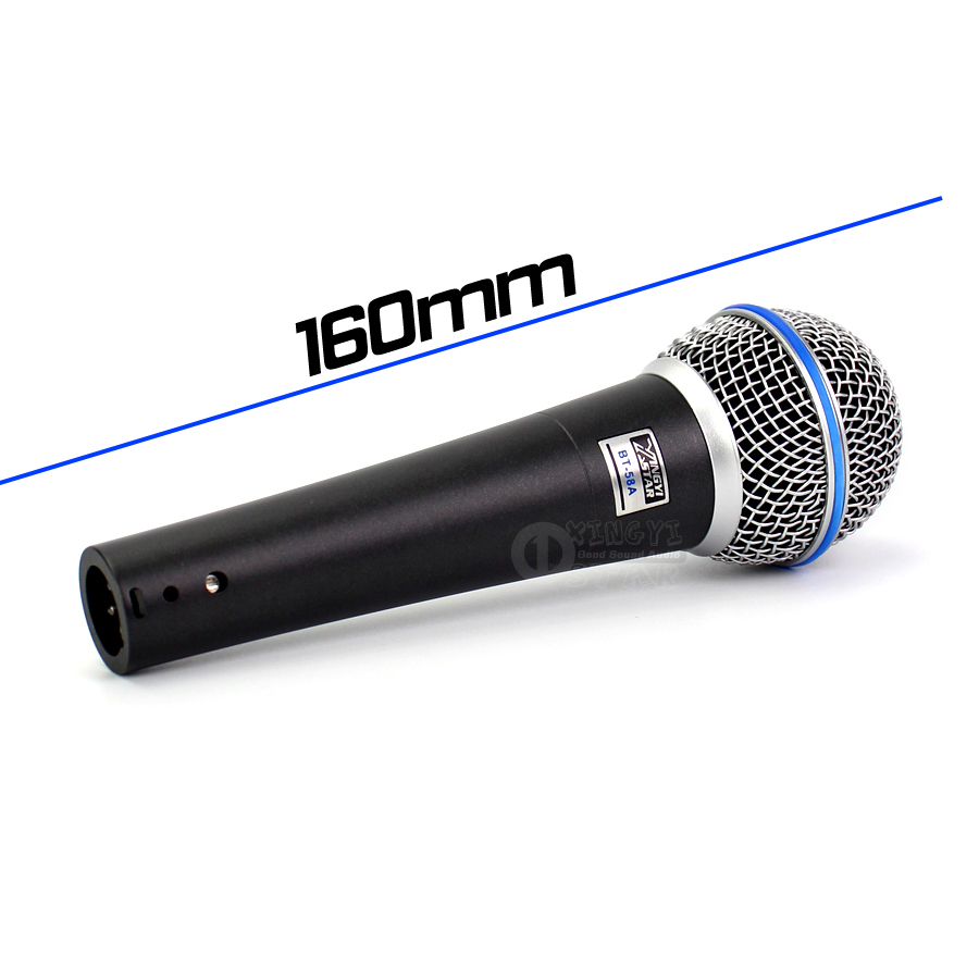 Professional Wired Handheld Mic 6