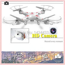 2017 Remote Control Drone Outdoor 33048 4CH 6-Axial Metal RC Helicopter 2.4GHz Quadcopter Gyroscope Camera Aircraft Kid Toy Gift