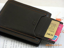 Fashion Vintage Retro Men Leather Wallets With Removable Card Slots Short Style Money Purses Card Holders Brand Designer