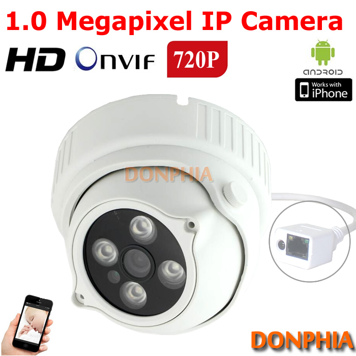 720P 1.0MP IP Camera indoor Mini Dome Camera Support Onvif 1.0Megapixel P2P surveillance CCTV Camera Security With Night Vision<br><br>Aliexpress