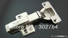 40PCS concealed hydraulic furniture ,cabinet hinge,clip on ,3d fast transfer(+/-2mm) full overlay(China)
