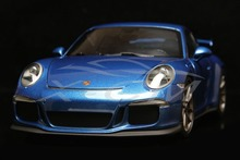 Diecast Car Model Minichamps 911 GT3 2013 1:18 (Blue Metallic) + SMALL GIFT!!!!!
