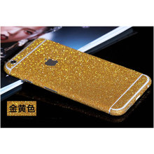 Multicolor Full Body Sticker for iphone 6 Decal Skin Protective Cover Film Matte Glitter Sparkling Diamond