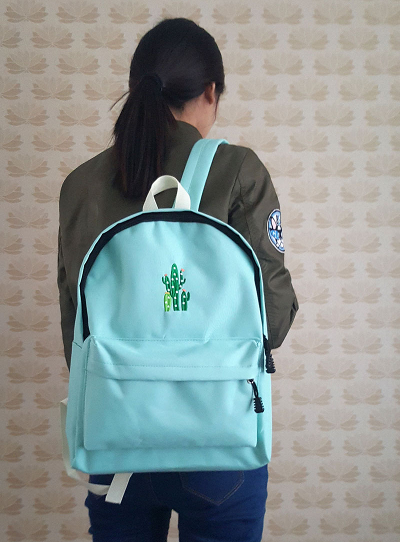 canvas school bag backpack (1)