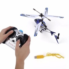 3 CHannels Mini Helicopter with Gyroscopic Control Remote Control RC A676(China)