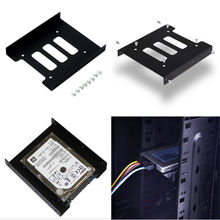 "Hot 2.5"" to 3.5"" SSD HDD Adapter Mounting Bracket Hard Drive Bay Holder for PC"