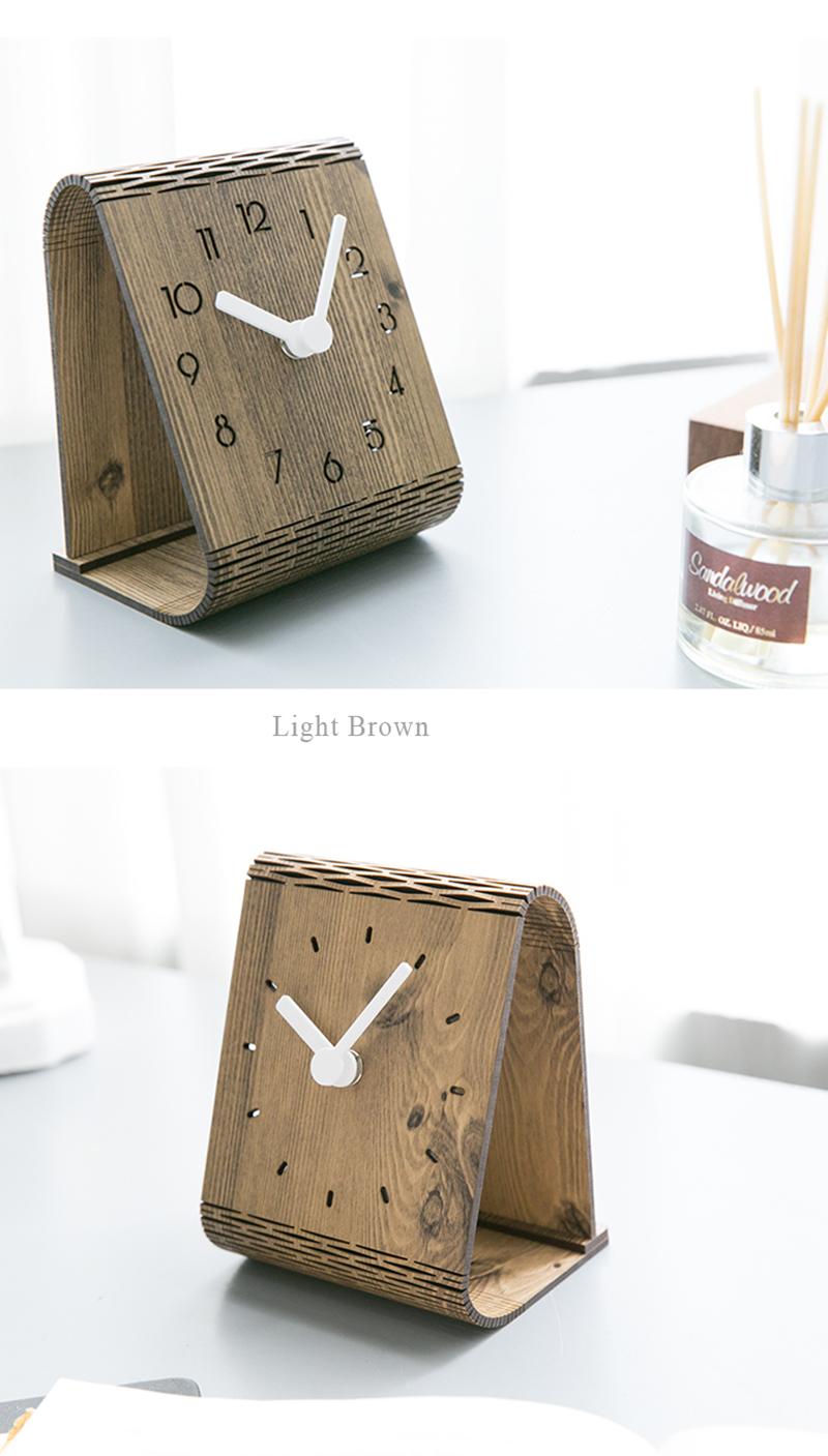 clock retro clock with time projection clock vintage automobile clock alarm clock bedroom clock clock flip watch table table clock vintage table clocks office decoration (7)