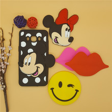 3D Cartoon Lip Smiling face Mickey Minnie Case Silicone Back Cover Samsung Galaxy 2016 J1 J120 & J3 J320 J5 J510 J7 J710 - Here Have A Store store
