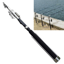 2.1m 2.4m 2.7m 3.0m Automatic Fishing Rod (Without Reel) Sea River Lake Pool Fishing Pole Device + Stainless Steel Hardware(China)