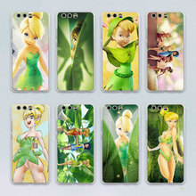 Tinkerbell Tinker bell design transparent clear hard case cover for Huawei P10 P9 Plus P8 P9 lite Mate S 9 8