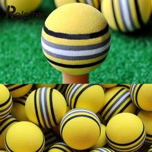 50Pcs Yellow EVA Foam Golf Balls Practice Light Indoor Outdoor Golf Training Aid Sports Equipment