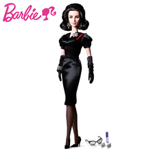 Barbie Dolls Authentic Limited Collector's Edition Celebrity Elizabeth TayIor Black Dress Grils Gift W3495(China)
