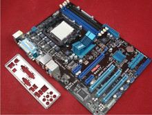 Free shipping 100% original motherboard for Asus M4A77T  DDR3 Socket AM3 All solid Desktop Motherboard mainboard