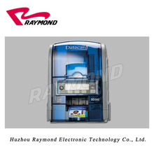 Datacard SD360 Dual-Sided ID Card Printer,High quality 300dpi double sided plastic pvc card printing machine(China)