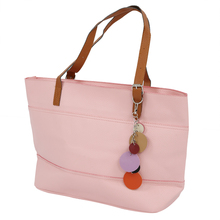 Sweet-Color Women girls Satchel Handbag Shoulder Tote Bag Lady Bag Shopper pink