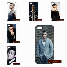 UK Singer Robbie Williams Hard Phone Case Cover For iPhone 4 4S 5 5S 5C SE 6 6S 7 Plus 4.7 5.5      #HE1284