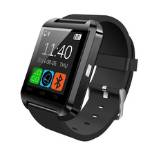 U8 Smart Watch Bluetooth Toush Screen Smartwatch Support remote Control Video for Smartphone(China)