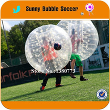 Free Ship (6Red+6Blue+2blowers)Free Shipping Exciting Crazy TPU loopy ball,inflatable buddy bumper ball,inflatable soccer bubble(China)