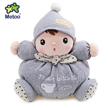 2016 New Design Novelty Metoo Cute Cartoon Animal Design Stuffed Babies Plush Toy Doll for Kids Birthday / Christmas Gift