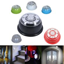 2017 NEW PIR Auto Sensor Motion Detector Lamp 6 LEDs Light Wireless Infrared Home Outdoor A84