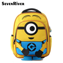 Buy Minion Backpack Kids School Bags Boys Schoolbag Backpacks Children Backpacks Mochila Escolar Infantil for $15.22 in AliExpress store