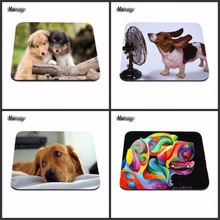 Mairuige 250x290x2mm Customized Mouse Pad Terrier Funny Cute Dog Computer Notebook Rectangle Rubber Mouse Mat Pad As A Gift(China)
