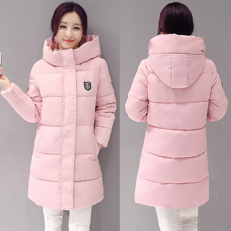 2017 New Women Long Parkas Female Winter Coat Thickening Warm Cotton Down Jacket Outwear Parkas Women Casual Clothing HoodedОдежда и ак�е��уары<br><br><br>Aliexpress