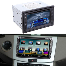 "6.2"" 2 Din Car Mirror Connect Android Cellphone Car DVD/USB/SD Player 3G WiFi Bluetooth GPS Radio HD Car Entertainment System(China)"