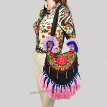 8085b233c07b Multi-use Hmong Vintage Tribal Ethnic Thai Indian Boho shoulder bag  messenger bag handmade