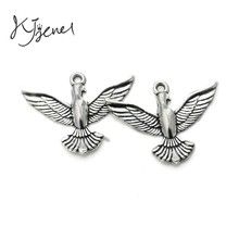 Buy 10pcs Dove Peace Charm Pendant fit Bracelet Necklace Tibetan Silver Plated Jewelry DIY Making Accessories 29x36mm for $1.39 in AliExpress store