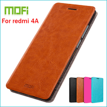 MOFI Leather Case Xiaomi redmi 4A Stand Redmi 4a Hight Quality Flip Cover - Shenzhen Top Electronic Store store