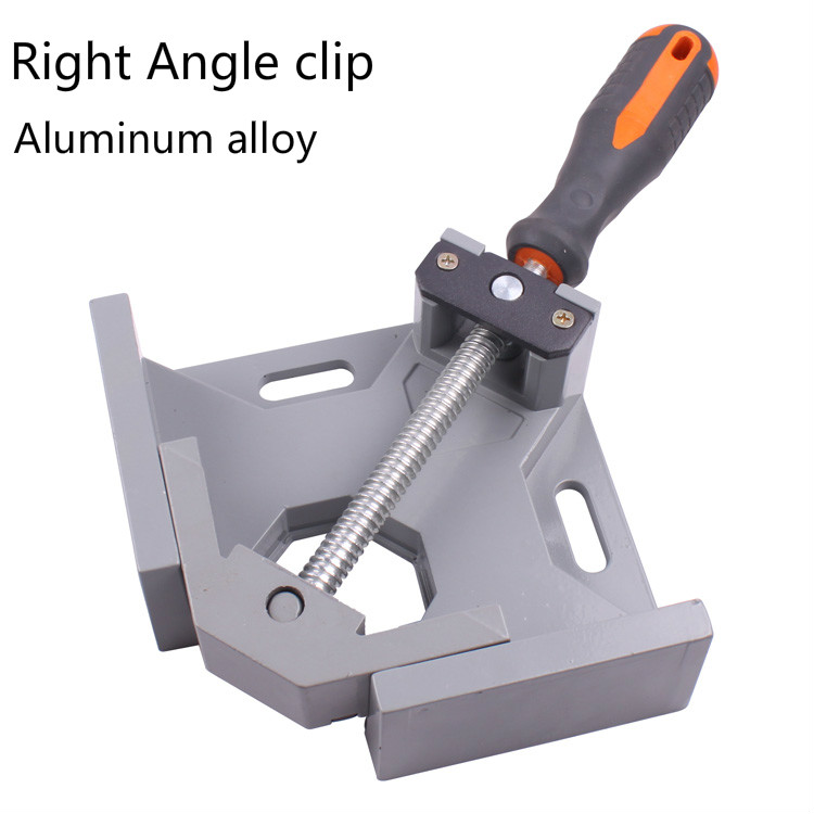 MYTEC  Single Handle 90 Degrees Angle Aluminum Alloy Rectangular Clamp  Woodworking Clamping Frame Tool<br>