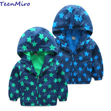 Kids Toddler boy Jacket Hooded Coat Fleece Jackets for boys clothes Children Outerwear baby Windbreaker blazer Parka clothing