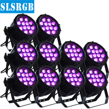 10PCS/LOT Outdoor Led Par With 12watt 12 pcs RGBW 4in1 12W led par stage light waterproof 4IN1 Multi-Color dmx led par 64 can(China)