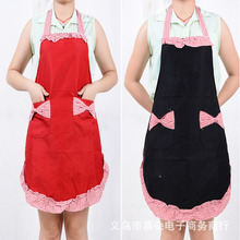 Factory direct selling / marketing aprons work aprons Korean version of thick cotton aprons wholesale Princess