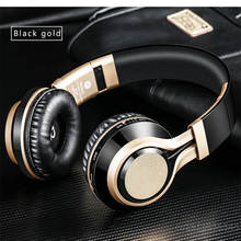 BT-08 Wireless Headphones Bluetooth Headset Foldable Headphone Adjustable Earphones With Microphone For PC mobile phone Mp3(China)
