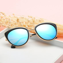 2017 new arrival fashion cat eye retro sunglasses women for vacation travel outside activities(China)