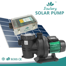 (DHL Free Shipping) Quiet 1hp DC Solar Water Pump for Swimming Pool ( 1hp - 21m3/h - 19m | Model : SJP21/19-D72/750)(China)